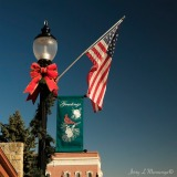 The town of Plattsmouth, NE has decked itself out for the upcoming Christmas holiday season, Saturday Nov. 12, 2016. (photo by Jerry L Mennenga©)