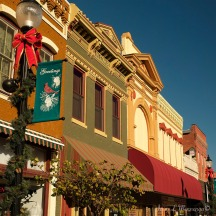 Downtown Plattsmouth, NE is decorated for the upcoming Chiristmas holiday season Saturday Nov. 12, 2016. (photo by Jerry L Mennenga©)