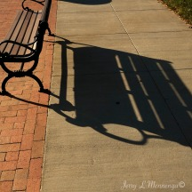 The afternoon sun during the fall creates some nice hard shadows in downtown Plattsmouth, NE Saturday Nov. 12, 2016. (photo by Jerry L Mennenga©)