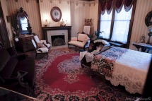 Rooms in the Peirce Mansion have been restored to period representation in Sioux City, Iowa, Thursday July 13, 2017. (photo by Jerry L Mennenga©)