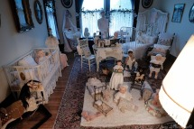A children's room in the Peirce Mansion in Sioux City, Iowa, Thursday July 13, 2017. (photo by Jerry L Mennenga©)