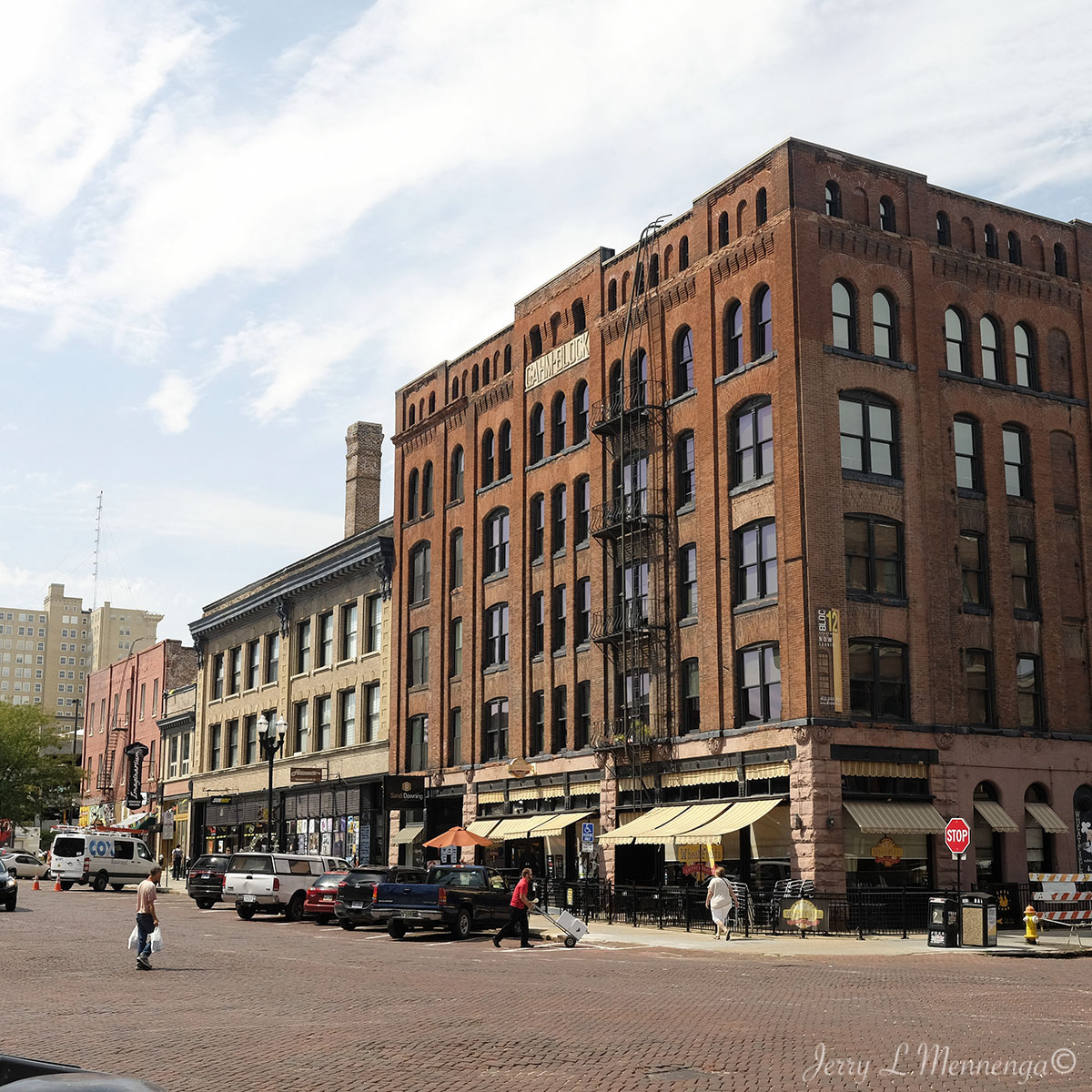Downtown Omaha: Visiting Old Market South Of Siouxland, Omaha, NE